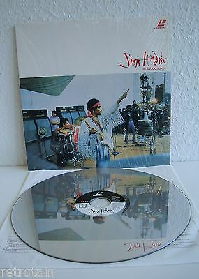 Jimi Hendrix at Woodstock | Laserdisc PAL | LD: Sehr Gut | Cover: Sehr Gut
