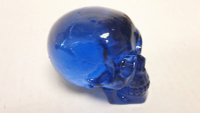 New Limited Edition Custom Blue Skull Shift Knob lever Zombie solid resin