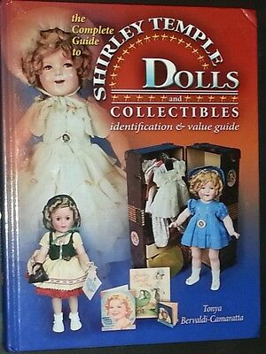 VINTAGE SHIRLEY TEMPLE DOLL PRICE GUIDE COLLECTORS BOOK HARDBACK COLOR PICS