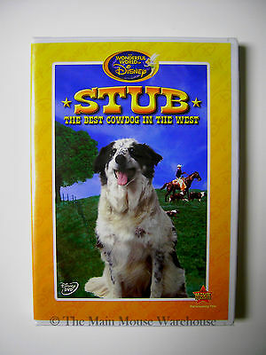 The Wonderful World of Disney Stub The Best Cowdog in the West TV Movie on DVD