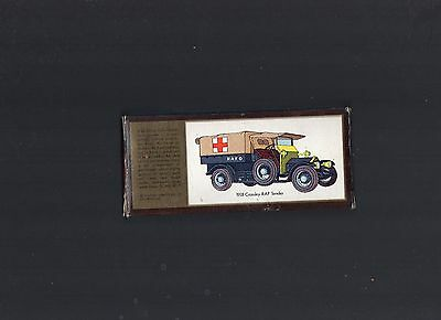 MATCHBOX MODELS OF YESTERYEAR  CANVAS COVER FOR 1918 CROSSLEY  RAF AMBULANCE.