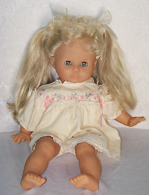 """VINTAGE 1985 BALICA 18"""" doll AMAZING LONG HAIR - STAMPED MAX ZAPF - GERMANY"""