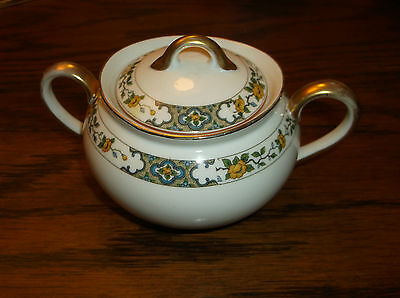 """An Antique Noritake """"The Monterey"""" Sugar Bowl with Lid ca.1920"""