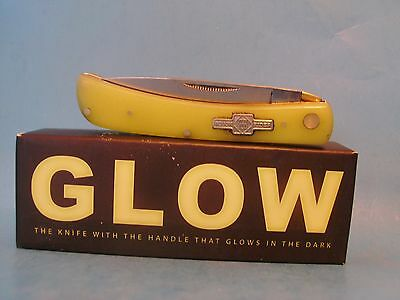 Moon Glow pocket knife Sodbuster Glow in the Dark Handle Free Shipping USA