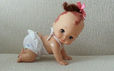 Playmates Vintage 1985 Crawling Baby Doll - Working Mint Condition