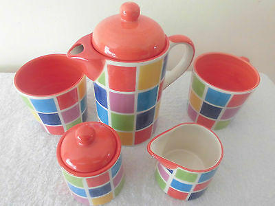WHITTARD COLOURFUL COFFEE FOR 2 SET