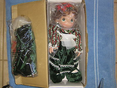 "Precious Moments. Christmas ""Belle"" Doll # 1155 12th Edition, 2004"