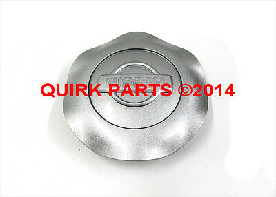 2001-2002 Nissan Quest | Silver Rounded Wheel Center Cap 6 Spoke OEM NEW