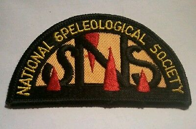 National Speleological Society Patch BRAND NEW sells nr