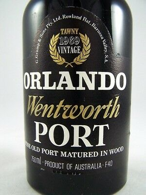 1969 ORLANDO Wentworth Vintage Tawny Port Isle of Wine