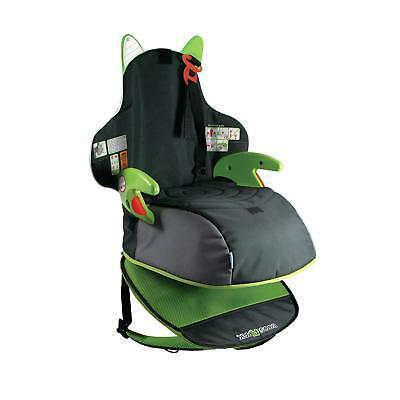 Trunki BoostApak Child Booster Seat Green Forward Direction 15-36kg Backpack