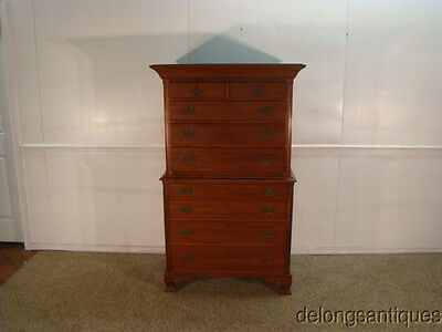 33624:Solid Mahogany Chest of Drawers