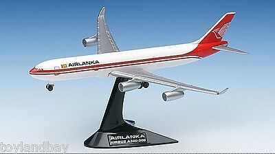 """Airbus A340-300 Airlanka """"It's a taste of Paradise"""" Herpa 504584 1:500"""