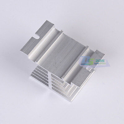 Single-phase Solid State Relay Radiator Aluminum Heat Sink 80mmx50mmx50mm Hot