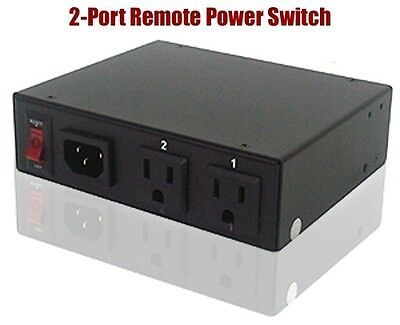 2-Port Remote AC Power Switch ~ Web Control + Auto Ping