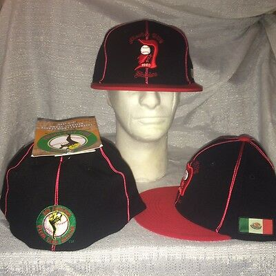 Latin League DIABLOS RED DEVILS MEXICO CITY   SIZE 7 3/8 Fitted  Hat