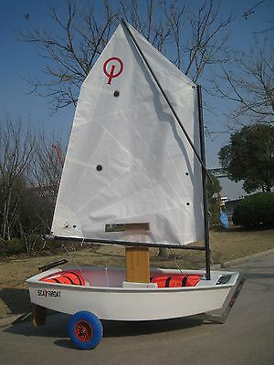Brand New Sunfish Optimist Race Sailboat Complete Ready to Sail  FREE SHIPPING