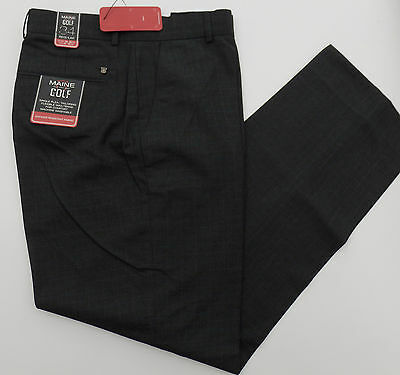 Mens Maine Debenhams  Grey Golf Trousers Shower Resistant Fabric New Rp£39.50
