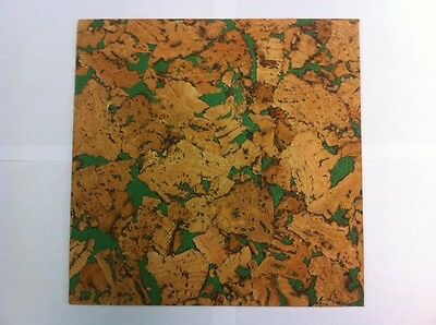 PATTERNED CORK SHEET 290 mm X 195 mm - 3 mm - THICK