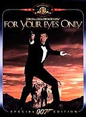For Your Eyes Only  DVD Roger Moore, Carole Bouquet, Topol, Lynn-Holly Johnson,