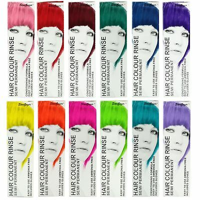 Stargazer Semi Permanent Hair Dye Cream Colour Rinse Tint Toner 1 2 or 4 Pack