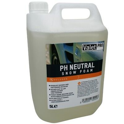ValetPro -ph neutral Snow Foam Shampoo 5 Liter, 5,18 EUR/Liter