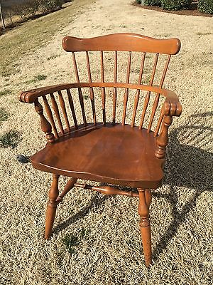 ETHAN ALLEN by BAUMRITTER - Maple Arm Chair - Dining, Windsor, Comb Back