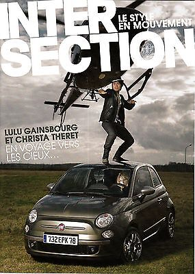 INTERSECTION Le Style En Mouvement S/2009 LULU GAINSBOURG & CHRISTA THERET @NEW@
