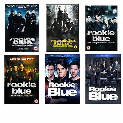 Rookie Blue Season Series 1, 2, 3, 4, 5 & 6 (the Finale season) DVD New Sealed