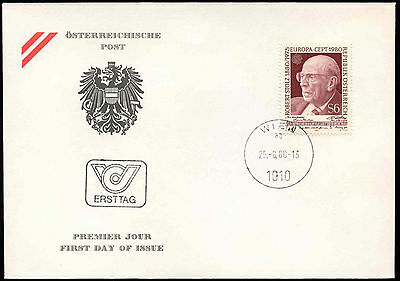 Austria 1980 Robert Stolz FDC First Day Cover #C17707