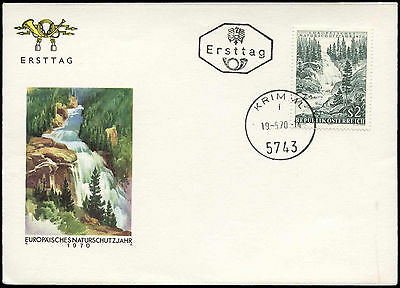 Austria 1970 Nature Conservation Year FDC First Day Cover #C17526