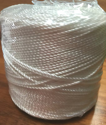 Butcher's Twine 400m White,FoodGrade,Polyester.Cooking,Trussing, BUY 1 GET 1FREE