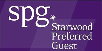 Upgrade your Starwood Preferred Guest Plus Lifetime US SELLER