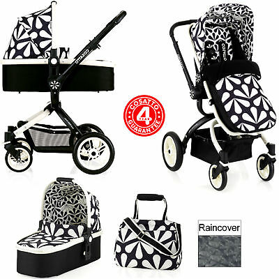 New Cosatto Charleston Ooba 3In1 Combi Pram / Pushchair 2 Way Facing From Birth