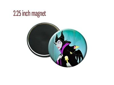 Maleficent Sleeping Beauty Disney Villain 2 1/4 inch magnet
