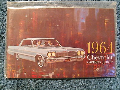 1964 64 CHEVY CHEVROLET IMPALA BELAIR BISCAYNE OWNERS MANUAL