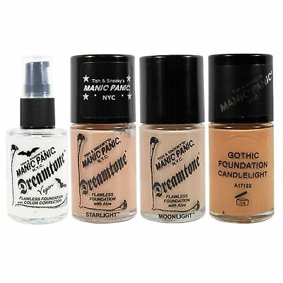 Manic Panic Dreamtone Liquid Foundation Fragrance Free Face Make Up