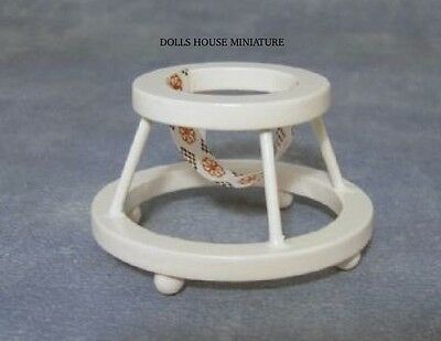 Baby Walker, Doll House Miniature, Nursery 1.12th Scale