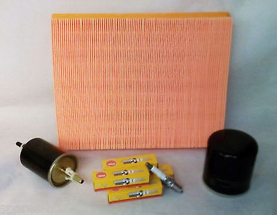 Service Kit Vauxhall Astra G H Oil Air Fuel Filters NGK Plugs