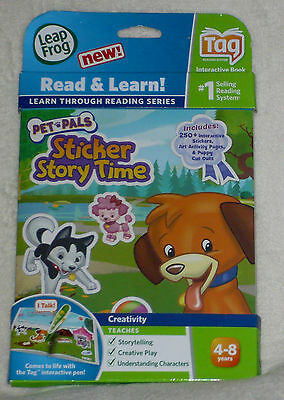 LeapFrog TAG book Learn to Read PET PALS NEW
