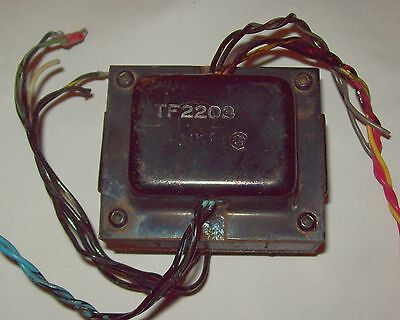 Recovered Ex Monitor Transformer TF2203, Pri 115v, 115v, Sec 24v, 8v-0-8v, 15v
