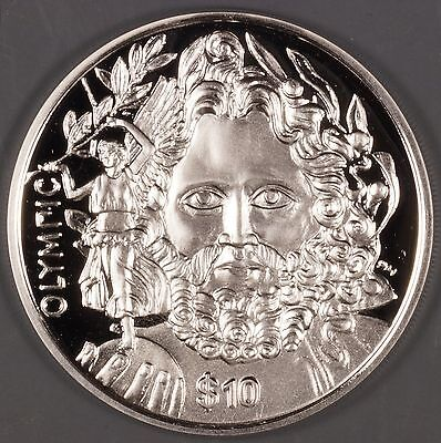 "British Virgin Islands 2013 ""Zeus"" $10 Silver Proof Coin"