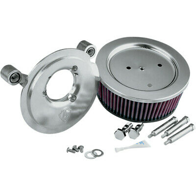 Arlen Ness Big Sucker Stage II Natural Air Filter Kit for Harley 99-15 Twin Cam
