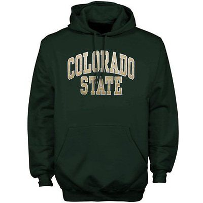 Colorado State Rams Green Bold Arch Hoodie