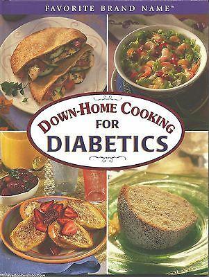 DOWNHOME COOKING FOR DIABETICS Cookbook RECIPES New DIABETIC Breakfast DINNER