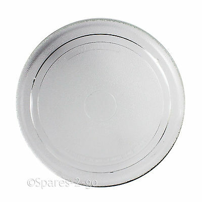 UNIVERSAL Microwave Plate Smooth Flat Glass Turntable Dish 270mm / 27cm