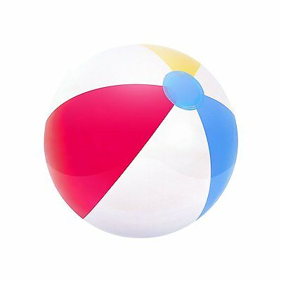 """Bestway 20"""" Panel Inflatable Beach Ball Holidays Garden Swimming Pool Party Ball"""