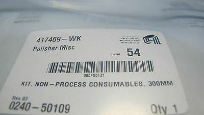Applied Materials P/n  0240-50109 Polisher Kit 300Mm