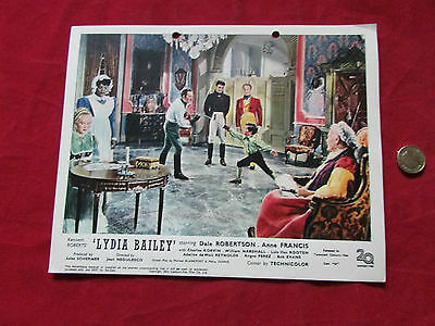 LYDIA  BAILEY   Dale Robertson & Anne Francis  Original Movie LOBBY Card No 3