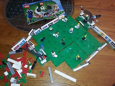 LEGO Soccer Championship Challenge Set 3409 ~Almost Complete w/ Instructions~